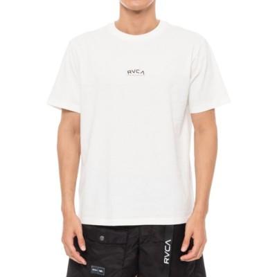 RVCAマリン・レジャーTシャツ 半袖 TINY ARCH 21S1 BA041201 WHT カットソーホワイト