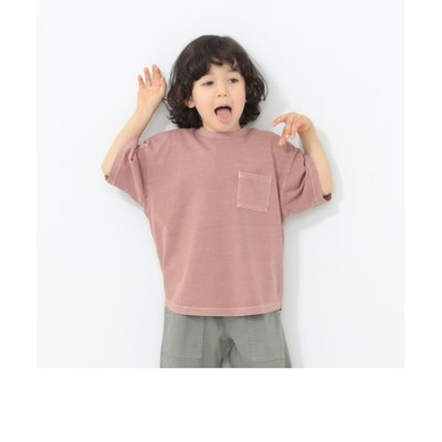 B:MING by BEAMS / 製品染 ラウンド クルーネック Tシャツ(100~140cm)