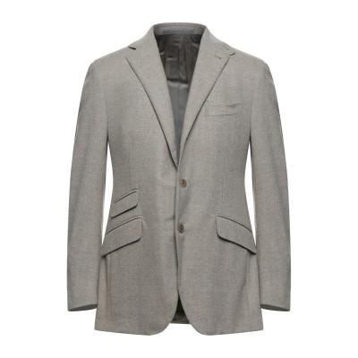 カンタレリ CANTARELLI テーラードジャケット ベージュ 48 ウール 100% テーラードジャケット