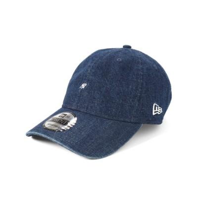 帽子屋ONSPOTZ / ニューエラ キャップ 9TWENTY MICRO LOGO MLB ニューヨークヤンキース ウォッシュ加工 NEW ERA WOMEN 帽子 > キャップ