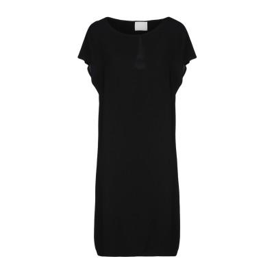 ゴータ GOTHA ミニワンピース&ドレス ブラック 1 レーヨン 96% / ポリウレタン 4% ミニワンピース&ドレス