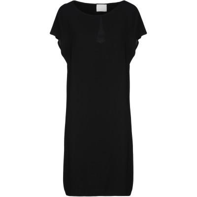 ゴータ GOTHA ミニワンピース&ドレス ブラック 0 レーヨン 96% / ポリウレタン 4% ミニワンピース&ドレス