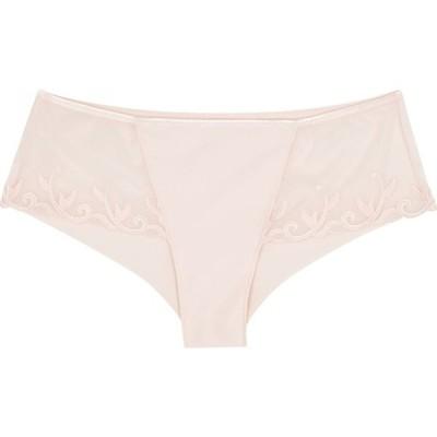 シモーヌペレール Simone Perele レディース ショーツのみ インナー・下着 Andora Blush Embroidered Briefs Pink
