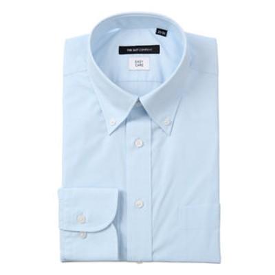 ボタンダウンカラードレスシャツ 無地〔EC・BASIC〕
