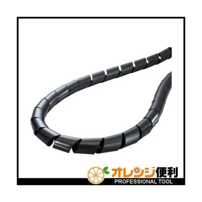 ヘラマンタイトン スパイラルチューブ (ポリエチレン製 耐候グレード) 黒 長さ100m TS-2.6-W 【433-7832】