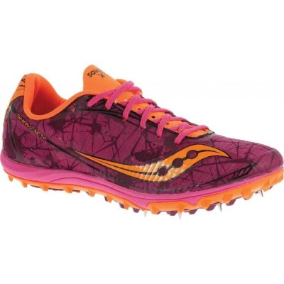 サッカニー Saucony メンズ ランニング・ウォーキング シューズ・靴 Shay XC4 Spike Raspberry/Vizi Orange