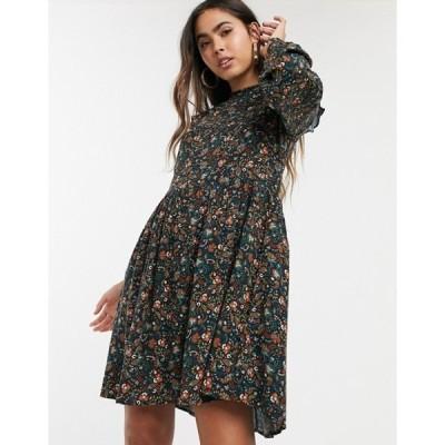 ウエアハウス レディース ワンピース トップス Warehouse swing dress in ditsy floral print