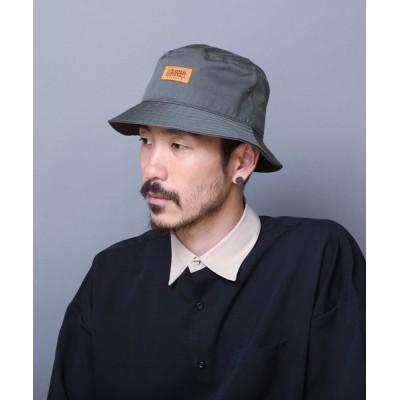LB/S / 【UNIVERSALOVERALL/ユニバーサルオーバーオール】TCツイルハット バケットハット ワンポイントブランドロゴ MEN 帽子 > ハット