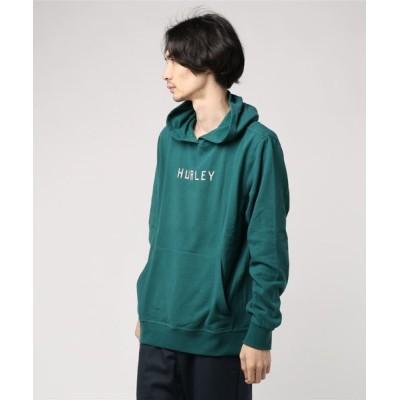 Hurley / M HRLY ATLAS ANCHORS PO FLC/ハーレー 長袖 プルオーバーパーカー MEN トップス > パーカー