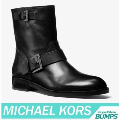 マイケルコース  ブーツ/シューズ   レディース/ウィメンズ  ミディ  レザー  モト  サイドジップ  靴  新作  MICHAEL KORS