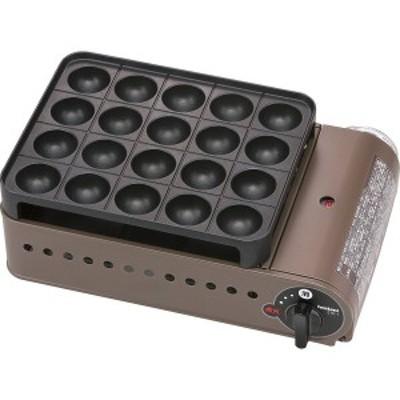 イワタニ カセットグリルたこ焼器 スーパー炎たこ ブロンズ&ブラック CB-ETK-1【送料無料】(ホットプレート、電気グリル、た