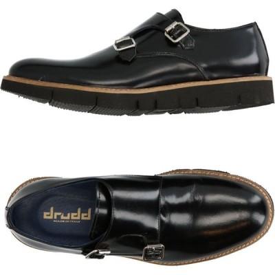 DRUDD メンズ ローファー シューズ・靴 loafers Black