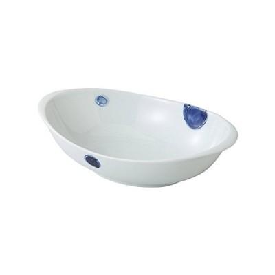 波佐見焼 丸紋 カレー鉢(青)3枚セット