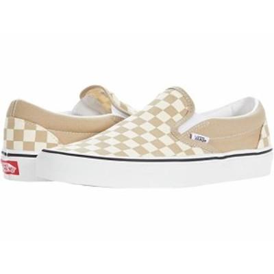 (取寄)バンズ クラシック スリップオン Vans Classic Slip-On (Checkerboard) Incense/True White