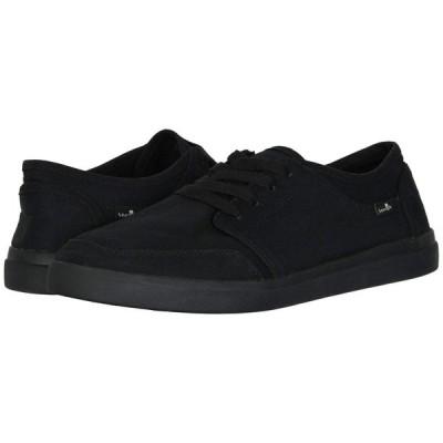 サヌーク Sanuk メンズ スニーカー シューズ・靴 Vagabond Lace Sneaker Black/Black