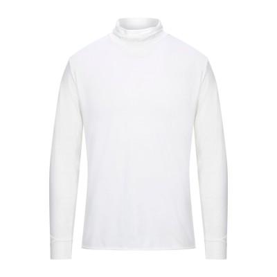 ダニエル フィエゾーリ DANIELE FIESOLI T シャツ ホワイト L テンセル 62% / コットン 30% / ポリウレタン 8% T