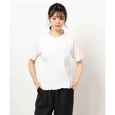tシャツ Tシャツ 配色メローカットソー