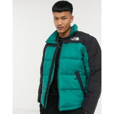 ノースフェイス メンズ ジャケット・ブルゾン アウター The North Face Himalayan insulated parka jacket in green Evergreen