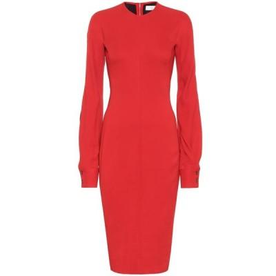 ヴィクトリア ベッカム Victoria Beckham レディース ワンピース ワンピース・ドレス Crepe dress Red