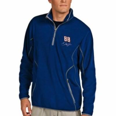Antigua アンティグア スポーツ用品  Antigua Dale Earnhardt Jr. Royal Ice Quarter-Zip Jacket