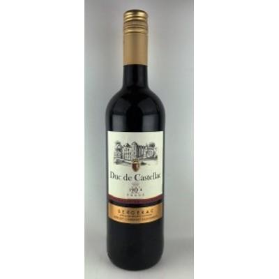 赤ワイン デュック・ド・カステラク 赤 ベルジュラック 2014