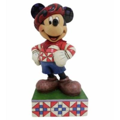 ジムショア ミッキーマウス フランスからあいさつ ディズニー 4043628 Greetings From France Mickey Mouse In France Figurine JimShore
