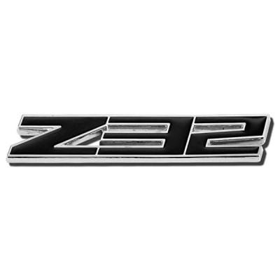 "DNA EM-L-Z32-BK - Black""Z32"" ロゴ メタル Decal エンブレム(海外取寄せ品)"