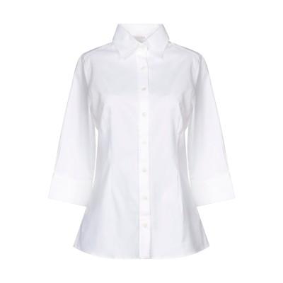 ROSSI DONNA シャツ ホワイト 42 コットン 100% シャツ