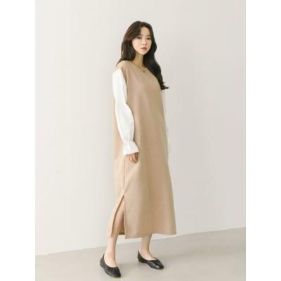[Dongdaemoon Korea] 東大門卸売キュテン入店  起毛キャンディワンピース / 韓国ファッション