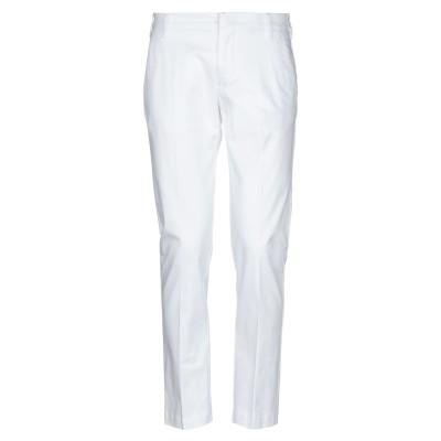 アントレ アミ ENTRE AMIS パンツ ホワイト 32 コットン 97% / ポリウレタン 3% パンツ