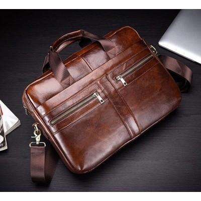 ビジネスバック本革防水ブリーフケースメンズアウトレットA4サイズB4ショルダーバック手提げバック鞄
