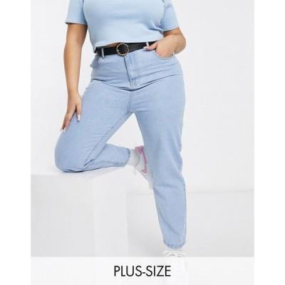 デイジーストリート Daisy Street Plus レディース ジーンズ・デニム ボトムス・パンツ Mom Jeans In Bleach Denim ブリーチ デニム
