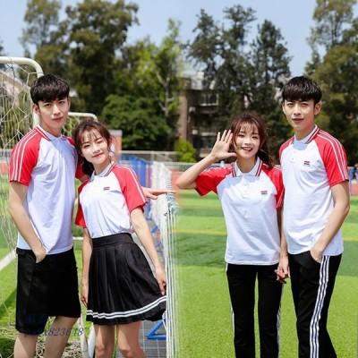 カップル 制服 スーツ女性 中学高校 英倫 クラスは学院風 運動会 学生 水手が 白いシャツ 制服を従います