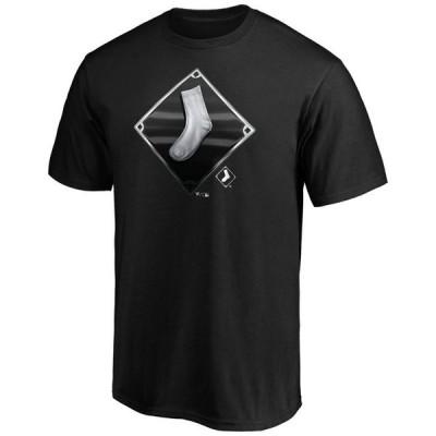 マジェスティック メンズ Tシャツ トップス Chicago White Sox Men's Midnight Mascot T-Shirt
