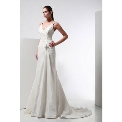 DA8061  ウェディングドレス       ウエディングドレス  マタニティー対応