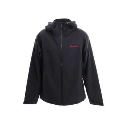 マーモット(Marmot) ジャケット アウター ストームジャケット TOMOJK00 BK 収納袋付 春 (メンズ)
