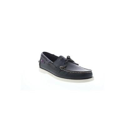 セバゴ メンズ・シューズ 紐靴 Sebago Portland Docksides Mens Brown Wide 2E Loafers & Slip Ons Boat Shoes