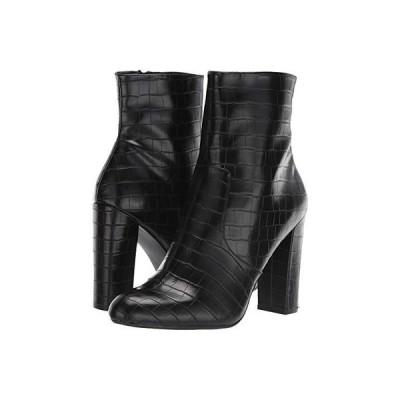 スティーブマッデン Editor Dress Bootie レディース ブーツ Black Croco