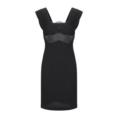 ADE' ミニワンピース&ドレス ブラック 42 ポリエステル 100% ミニワンピース&ドレス
