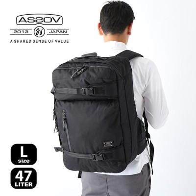AS2OV アッソブ コーデュラドビー305D 3WAYバックパック L バッグ リュック ビジネスバッグ ショルダー