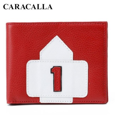 (カラカーラ/CARACALLA)アイルトン・セナ#1ウォレット AYRTON SENNA NO.1 WALLET 二つ折り財布 F1
