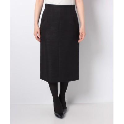 (LAPINE BLANCHE/ラピーヌ ブランシュ)【セットアップ対応】ブリンクツィード スカート/レディース ネイビー