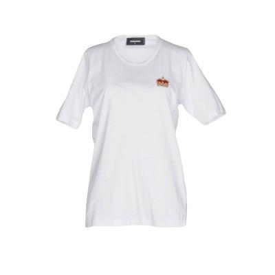 ディースクエアード DSQUARED2 T シャツ ホワイト M 100% コットン T シャツ