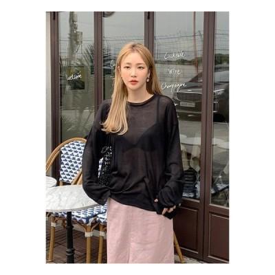 HEYLADY レディース ニット/セーター Lice Shirts Long Sleeve Knit