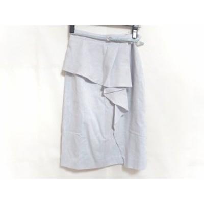 ジャスグリッティー JUSGLITTY スカート サイズ0 XS レディース 美品 ライトブルー【中古】20200526