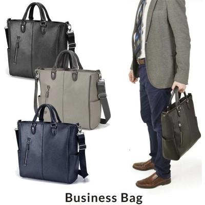 ビジネスバッグ トートバッグ メンズ 通勤 鞄 カバン ブランド ショルダー付き 大容量 大きめ 2way A4 B5 ノートPC タブレット