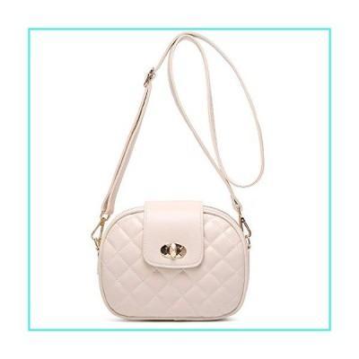 【新品】ToLFE Small Crossbody Bag for Women Triple Zip Pocket Shoulder Bags Ladies Purses(並行輸入品)