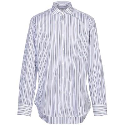カリバン CALIBAN シャツ ホワイト 42 コットン 100% シャツ