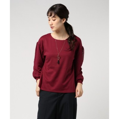 tシャツ Tシャツ 袖異素材プルオーバー