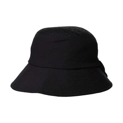 ムーンバット-marylia-リボンモチーフ付き-コットン日焼け対策-熱中症帽子